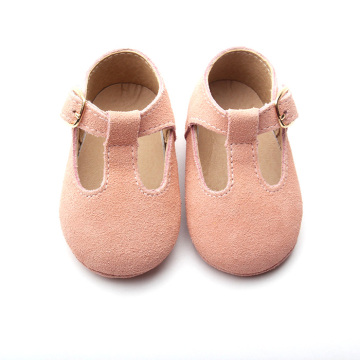 Cute Genuine Leather Mary Jane Baby Shoes