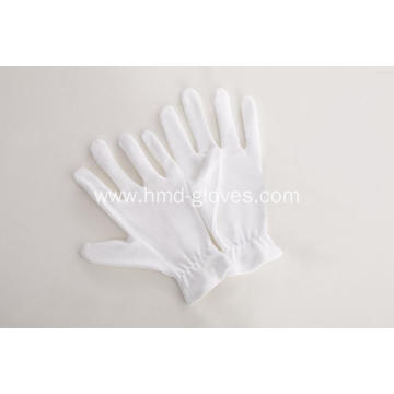 Funeral White Cotton Gloves