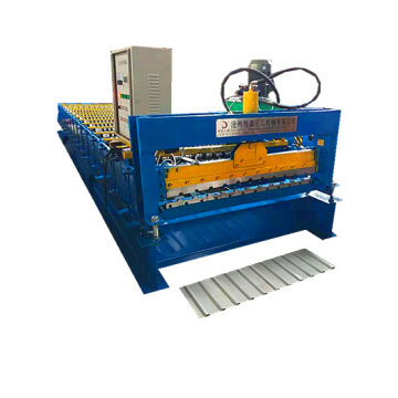 trapezoidal roofing sheet cold roll forming machinery