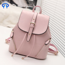 Fashionable PU shoulder bag college style travel bag