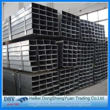 Quality for Galvanized Square Tube Low Carbon Square Steel Tube for Construction supply to Botswana Importers