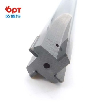PCD polygon t-slot end mill router cutter