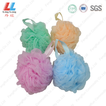 Waves mesh single style bath ball