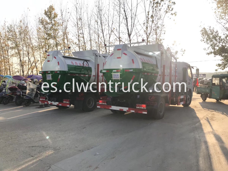 food waste hauling truck for sale
