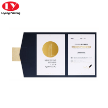 Luxury business invitation card printing