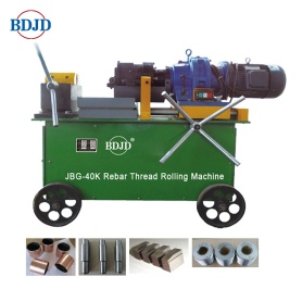 Portable Electrical Rebar Threader for Construction