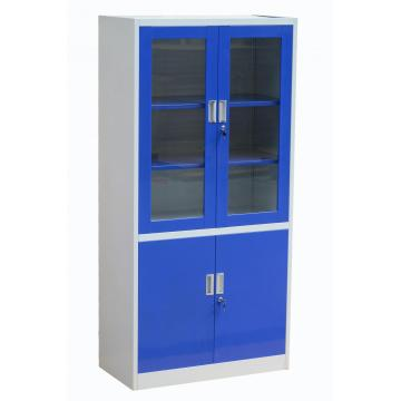 Blue Door Metal Cupboard