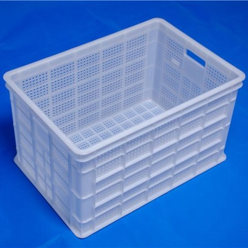 Injection molded PP plastic basket/Turnover box