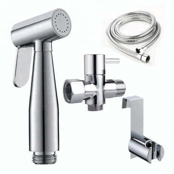 Lowest Price for Plastic Dual Function Shower sanyin hand held bidet sprayer set supply to Lithuania Importers