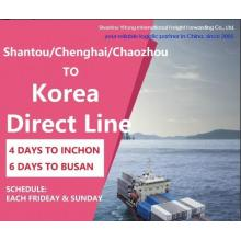Shantou/Chenghai/Chaozhou to Korea Direct Line