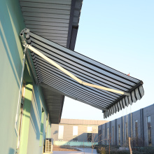 Retractable arms awning 3.6*1.2M Red