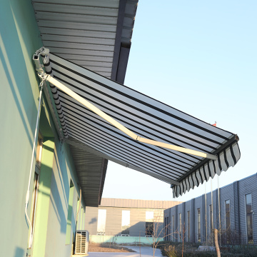 Retractable arms awning 3.0*1.5M Red