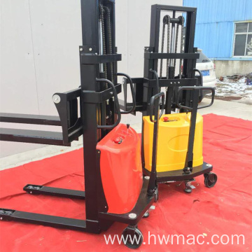 1ton 1.6m semi electric forklift