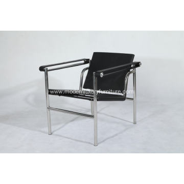 leather belt Basculant chair replica