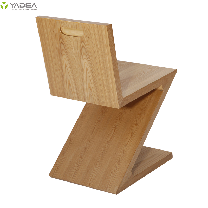 Wood Zig Zag chair