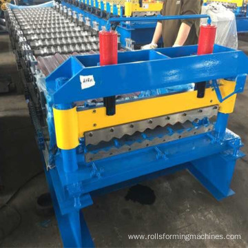 ZT850 corrugated machine steel roof