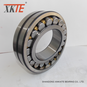 Brass Cage Roller Bearing 22220 CA For Conveyor