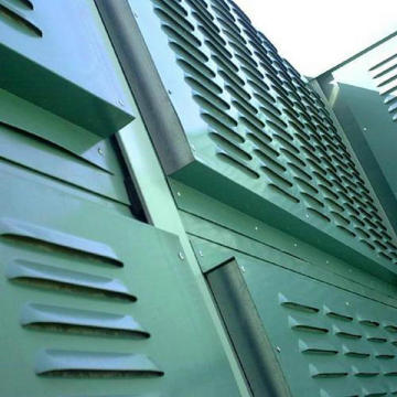 Metal Noise Barrier Panel Wall