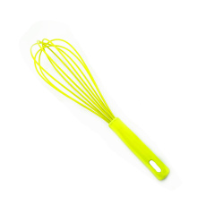 bright yellow Egg Beater silicone coated whisk
