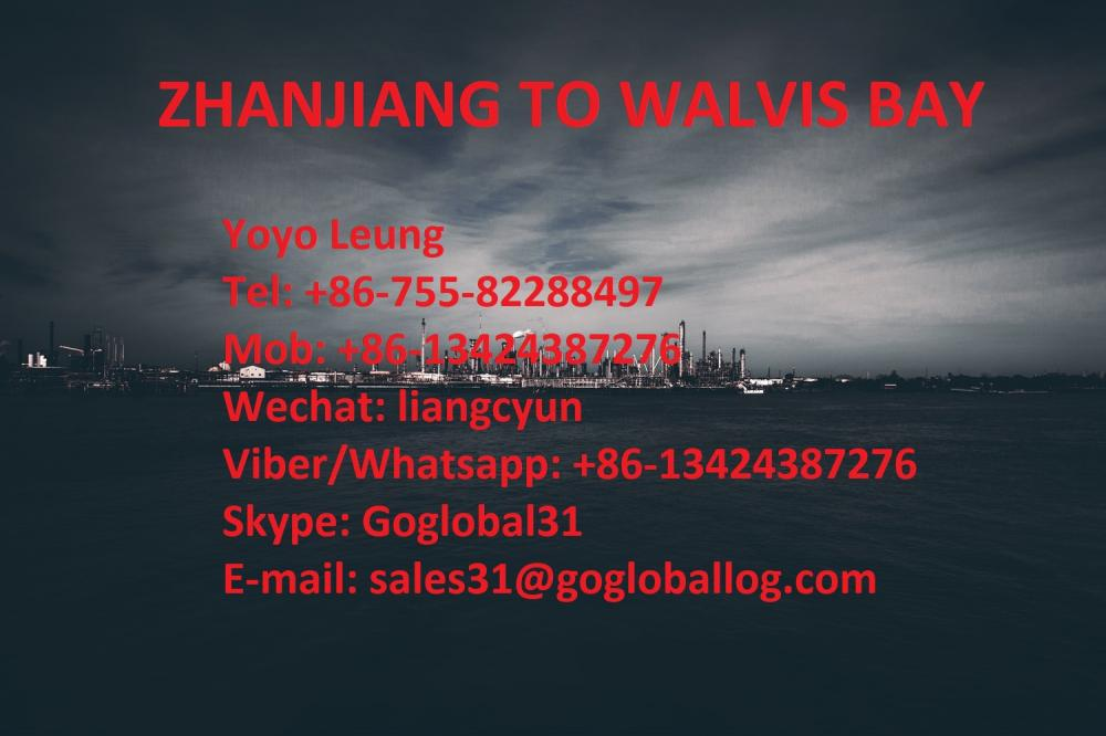 Zhanjiang Zhanjiang Sea Freight Port to Namibia Walvis Bay