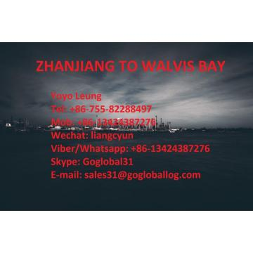 China for Shipping To Africa Zhanjiang Zhanjiang Sea Freight Port to Namibia Walvis Bay supply to United States Manufacturer