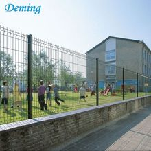 Powder Coated Welded Wire Mesh Bending Fence for Construction