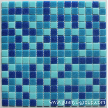 Melted Glass Mosaic