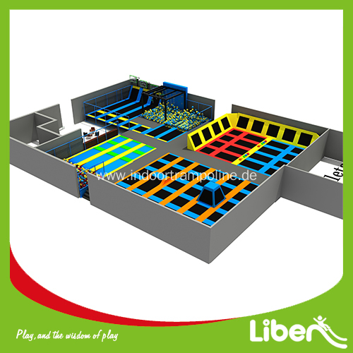 Large Indoor Adult Jump Trampoline Park for Sale