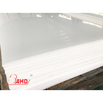 T 3mm Extrusion White POM Delrin Sheet