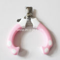 Stainless Steel Dog Nail Clippers With File