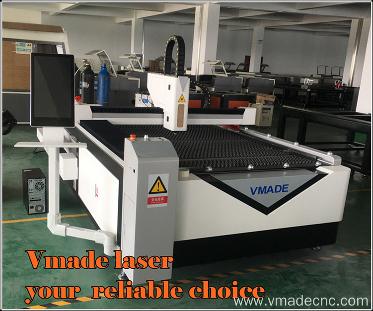 Adverting 500W Fiber Metal Laser Cutting Machine
