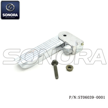 ZNEN Spare Part ZN50QT-E 50,125CC Right Foot Rest(P/N:ST06039-0001) HIGH QUALITY