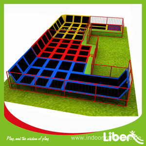Professional High Quality for Indoor Trampoline Park, Indoor Trampoline Equipment, Indoor Trampoline Park Builder in China According to your room size elastic bed for sale supply to Turks and Caicos Islands Manufacturer