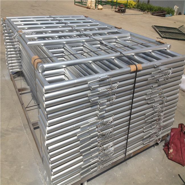Hot Sales Galvanised Livestock Farm Used Horse Fence Gates