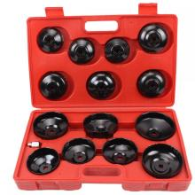 15 Piece Oil Filter Wrench Tool Set