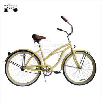 Colorful OEM Lady`s beach cruiser bike bicycle