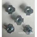 M6 Large flange The Claw ZP T-nuts