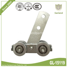 Steel Double Bar Roller For Curtain Side Track
