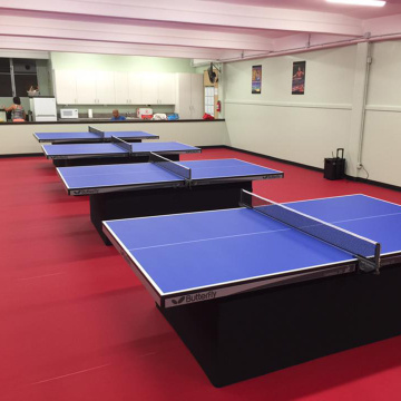 ITTF table-tennis court floor