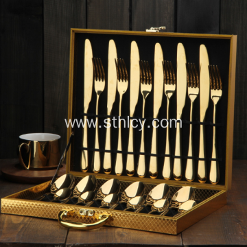 Stainless Steel Knife Fork Western Tableware