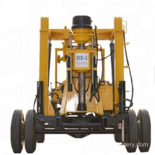 Hydraulic rotary water well drilling rig