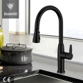 Hot Cold Water Gooseneck Single Handle Kitchen Faucet