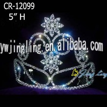 Crystal Cheap Pageant Crowns For Adult