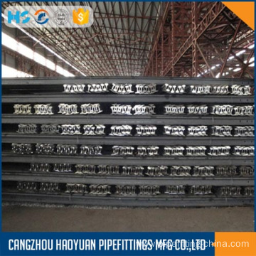 MIne Steel Rail 24kg 55Q Q235 20ft Length