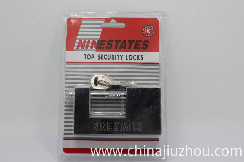 Iron Rectangle Padlock