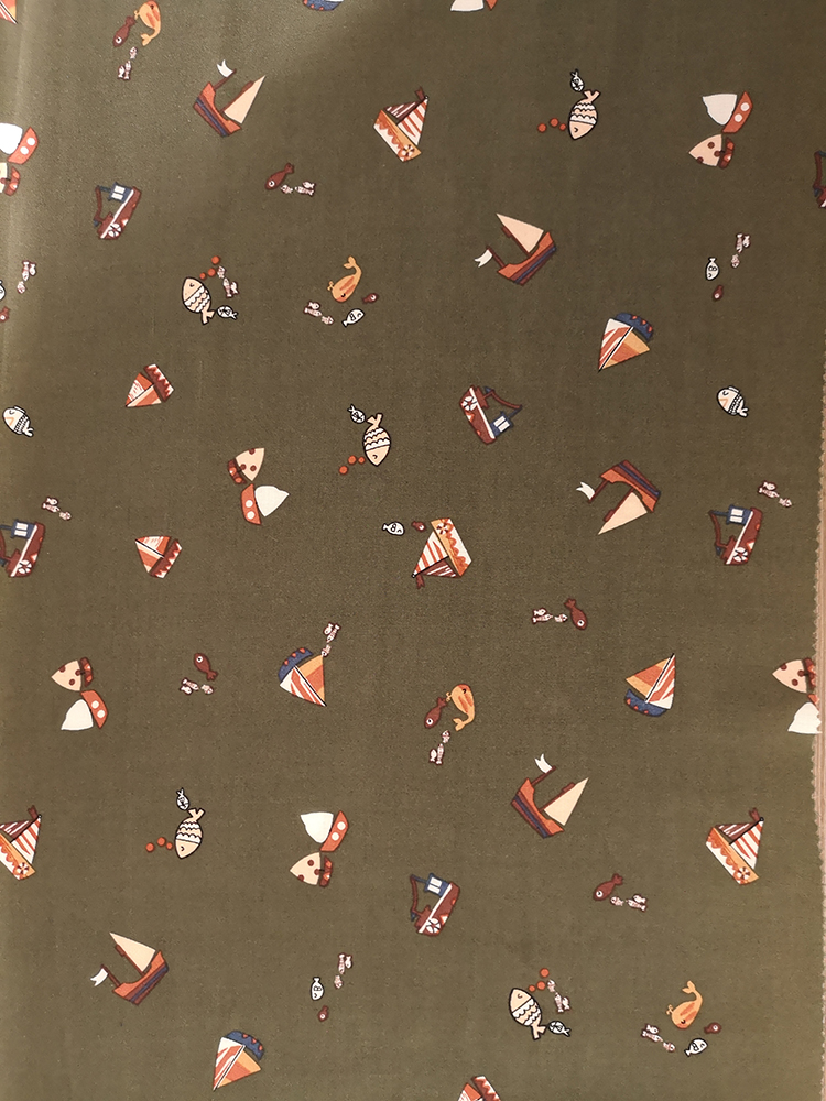 Interest Design Rayon Challis 30S Light Printing Fabric