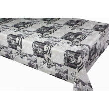 Pvc Printed fitted table covers Garland