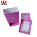 Pink Paper Gift Box Bra or Underwear Packaging