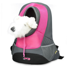 Factory source manufacturing for Durable and Colorful Pet Backpack Pink Small PVC and Mesh Pet Backpack supply to France Manufacturers