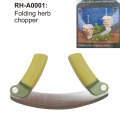 Folding Herb Chopper with Soft Handle